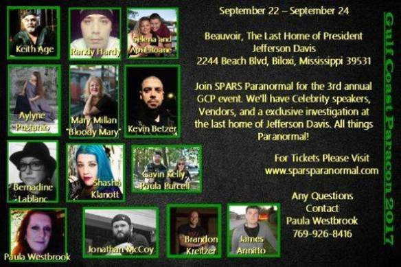 Gulf Coast ParaCon 2017